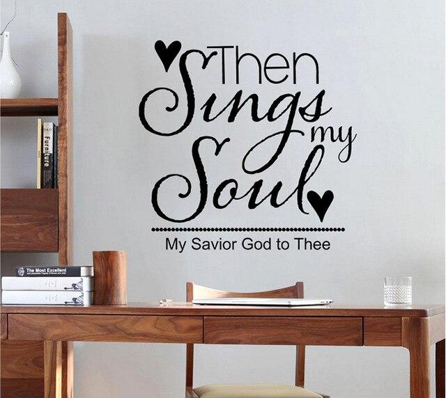 zingen mijn lied tekst patroon muurstickers woonkamer slaapkamer kinderkamer tv sofa achtergrond decoratie muurstickers