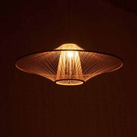 New bamboo chandelier Chinese chandelier chandelier Nordic Light bamboo