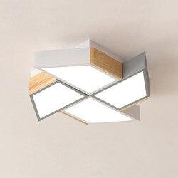 220 V LED lampy sufitowe w wiatrak kształt do salonu Lamparas de techo sypialnia chłopcy pokój lampy sufitowe pokoje oprawa