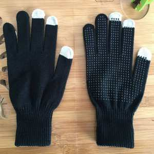 Touch-Gloves Velvet iPad Tablet Screen Plus M for Non-Slip iPhone Thicken Warm Samsung