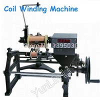 New Manual Automatic Hand Electronic Coil Winding Machine 220V Applicable Wire Diameter 0.06 0.50mm FZ 160