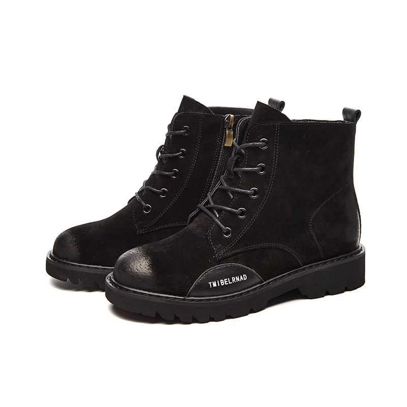 Martin Femmes Bout Med Carré Rond Cheville Chaussures Bottes Or Moto zqwv7x0zZ