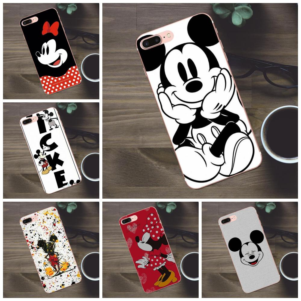 Protector Cases Mickey-Mouse Apple iPhone Galaxy A3 8-Plus for 4/4s/5/.. A5 J1 J2 J3