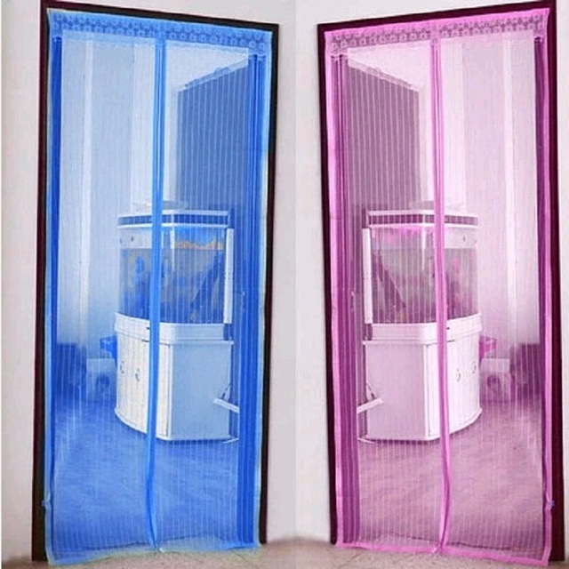 2017 Magic Mosquito Net Screen Curtain Summer Anti Door Mesh Magnetic Soft Insect Fly