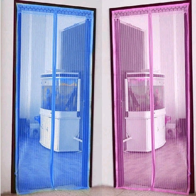 2019 New Mosquito Net Screen Curtain Summer Anti mosquito Door Mesh Magnetic Soft Insect Fly Bug Mosquito Screen Room Divider