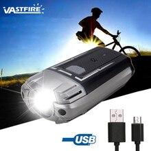 MTB Bicycle Front Light 300 lumens high brightness headlights aluminum alloy case 1200 mAh battery