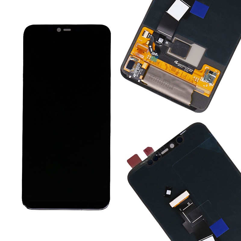 For Xiaomi Mi 8 Pro LCD Display with Frame 10 Touch Screen for Xiaomi Mi8 Pro AMOLED LCD with fingerprint Digitizer Replacement in Mobile Phone LCD Screens from Cellphones Telecommunications