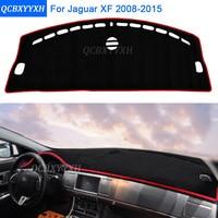 Car Styling Dashboard Protective Mat Shade Cushion Photophobism Pad Interior Carpet For Jaguar XF 2008 2015