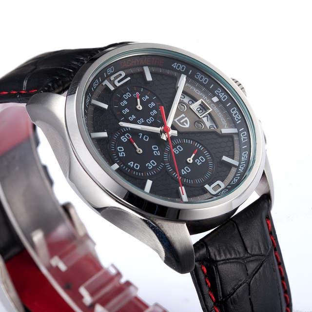 f68056b80f1 placeholder PAGANI PROJETO Relógios Homens Marca De Luxo Multifunções Homens  Cronógrafo de Quartzo Relógio Do Esporte de