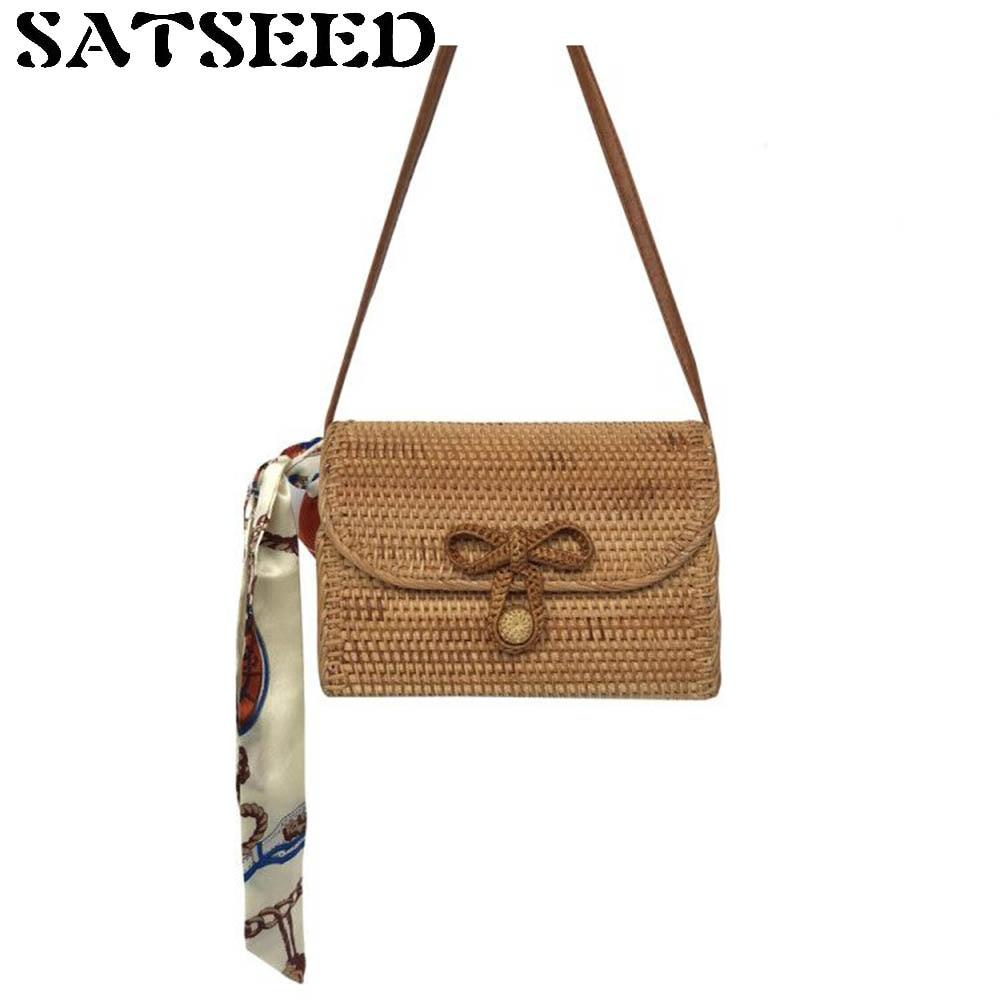 Pure Hand-Vietnam Rattan Bags Quality Autumn Rattan Weaving Bag