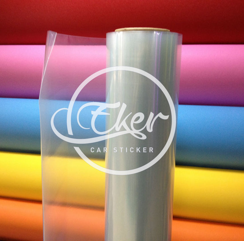 EKER CAR STICKER 1.52x30M 5FTx98FT  Free Shipping 0.15MM Thickness Transparent Car Paint Protection Wrap Vinyl Film