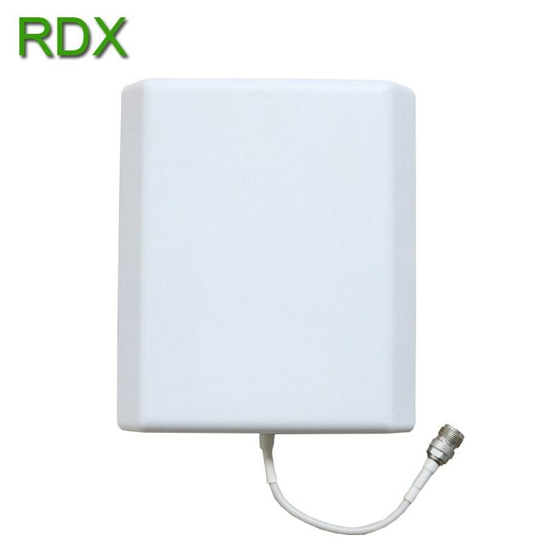 Haute qualité double bande 900 2100 répéteur de Signal téléphone Mobile 2G 3G GSM WCDMA UMTS amplificateur de Signal avec antenne de panneau - 4