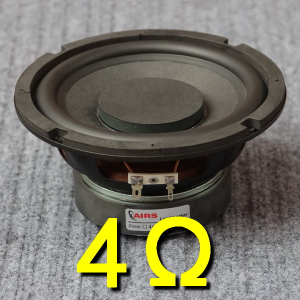 2PCS AIRS New 6.5inch Subwoofer Speaker Driver Unit Special PP Cone Large Magnets Deep Suspension 4/8ohm 50W Fs 38Hz Dia 166mm 2pcs kasun qa 8100 8inch woofer speaker driver unit paper cone 8ohm 140w dia 218mm fs 45hz