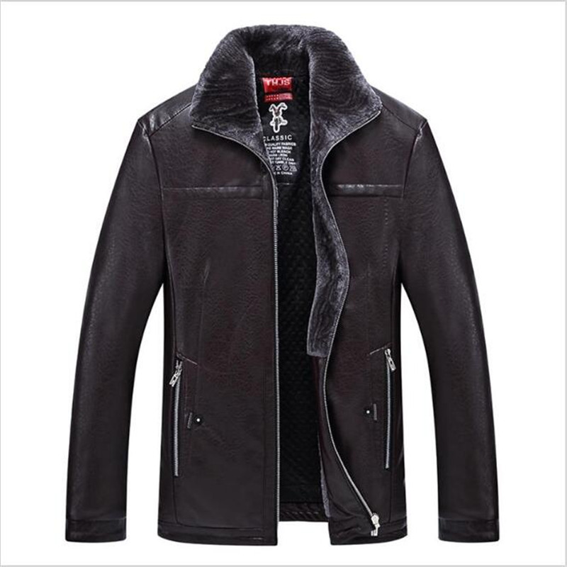 9xl 8xl 7xl 6xl 5xl 4xl new warm winter sheepskin men s leather jacket men leisure