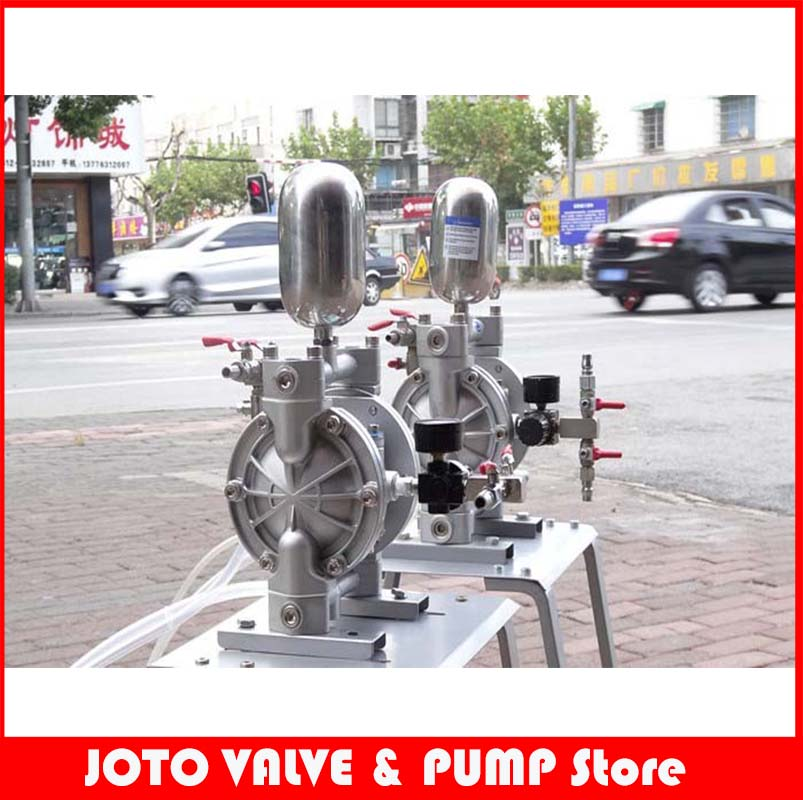 все цены на Electric Ink Pump Aluminum Alloy Material Spray Paint Diaphragm Pump онлайн