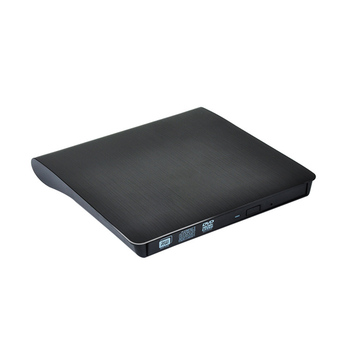 Внешняя портативная горелка USB 3,0 для считывания ПЗУ с оптическим записывающим устройством DVD для портативных ПК