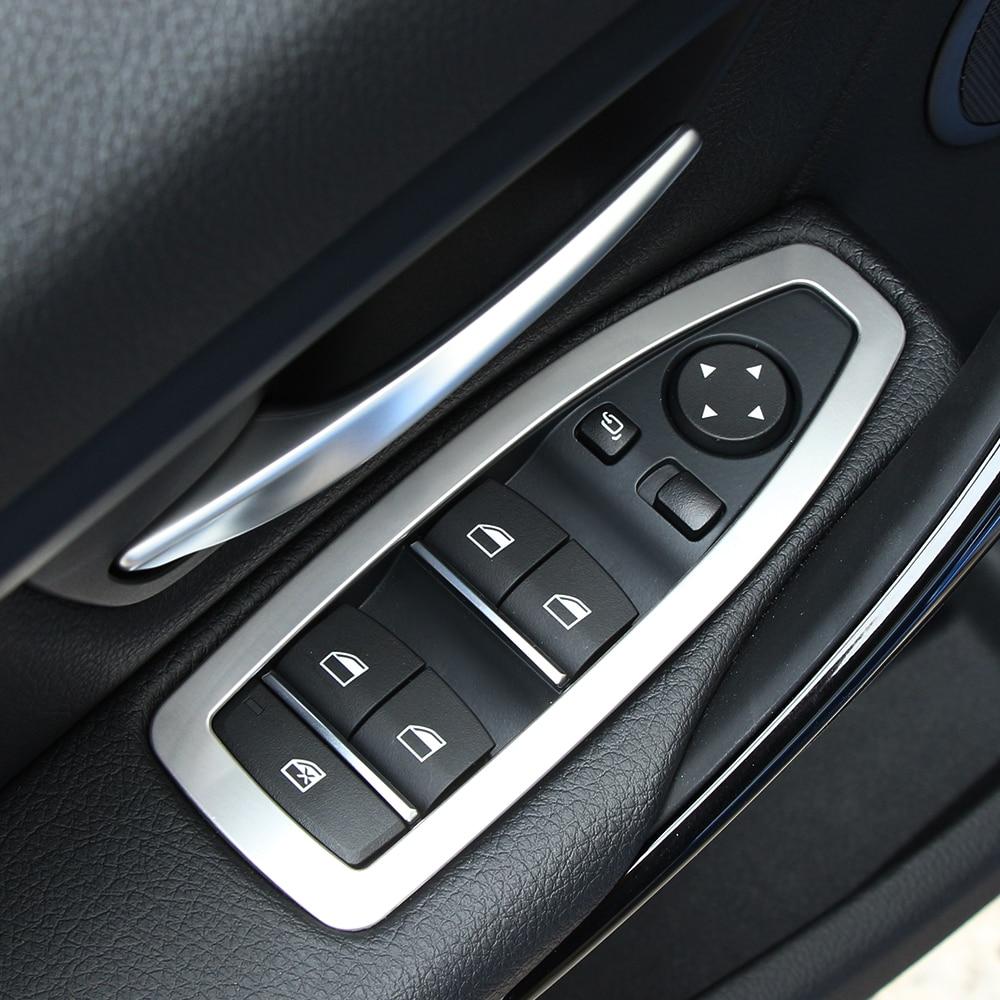Acess rios do carro interior do carro de a o inoxid vel guarni o tampa ma aneta da porta para