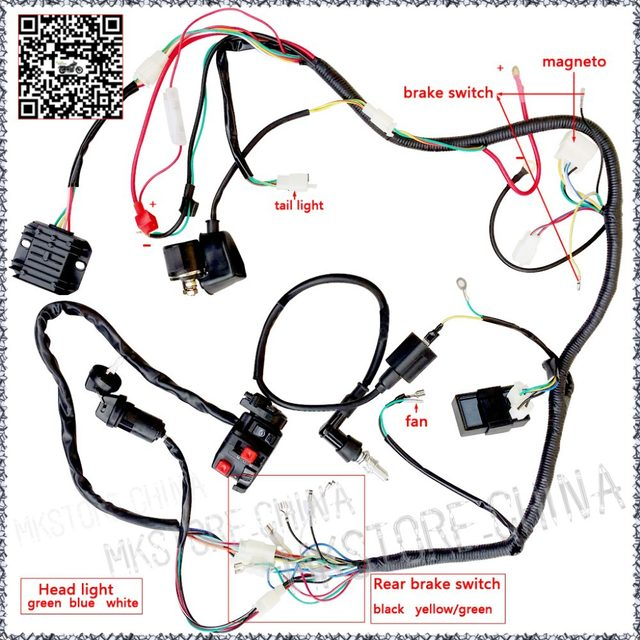 zongshen 250cc wiring harness wiring diagrams vintage wiring harness online shop quad wiring harness 200 250cc chinese electric start