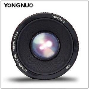 Image 5 - YONGNUO YN50mm F1.8 השני גדול צמצם אוטומטי פוקוס עדשת 50mm Lentes עבור Canon 100d 650d 5d 77d 500d 1000d 5DIV 5 5DIII 5DII 5D 60D