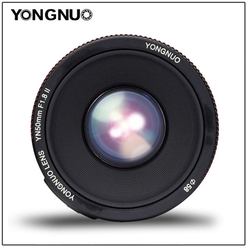 Image 5 - YONGNUO YN50mm F1.8 II Large Aperture Auto Focus Lens 50mm Lentes For Canon 100d 650d 5d 77d 500d 1000d 5DIV 5DIII 5DII 5D 60D-in Camera Lens from Consumer Electronics