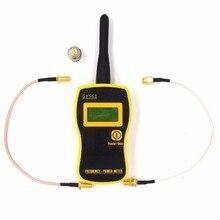 GY561 البسيطة المحمولة 1 MHz-2400 MHz عداد التردد والطاقة متر ل اتجاهين راديو