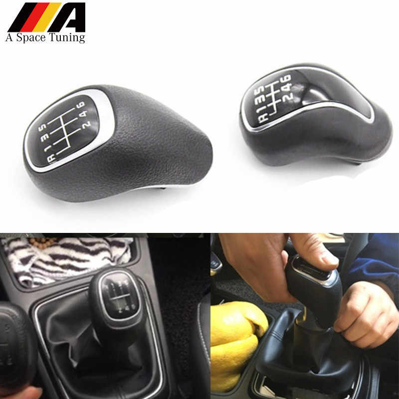 6 Speed Manual Gear Shift Knob Car Styling Accessories For Kia K2 K3 K4 Sportage Hyundai IX25 Creta Lever Stick Pen Shifter