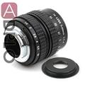 50mm f1.4 C montaje de La Lente + C-Micro M4/3/NEX/N1/pentax q/fuji/m m2 anillo adaptador para s. ony pentax cámara