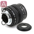 50mm f1.4 C mount Lens + C-Micro M4/3 / NEX / N1 / Pentax Q /Fuji / M M2 Adapter Ring For S.ony Pentax Camera