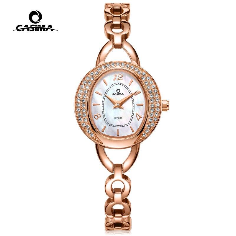 CASIMA marque de luxe Bracelet montres femmes Montre Femme mode Flash forage femmes Montre à Quartz Relojes Mujer cadeau 2616
