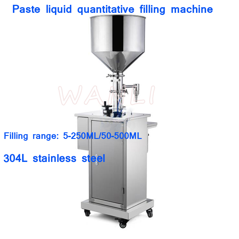 Accuracy 1% Semi-automatic Paste Filling Machine  Quantitative Liquid Filling Machine Cosmetic Cream Honey Filling Machine