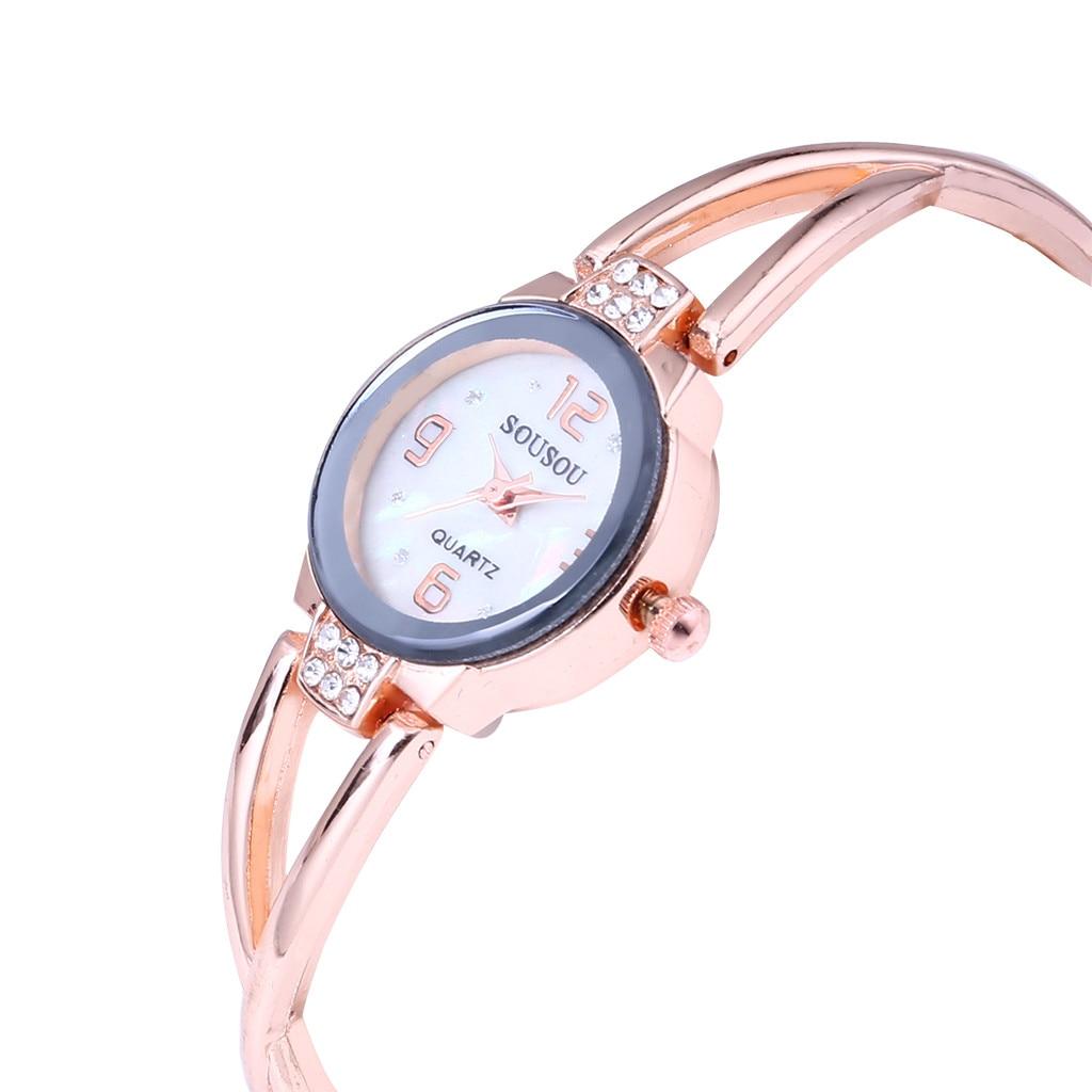 Women's Watches Creative Arabic Numerals Bracelet Gold Crystal Diamond Ladies Quartz Wristwatches Casual Women Wach Bayan Kol