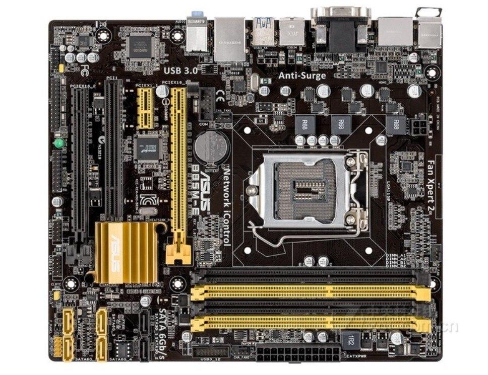все цены на B85M-E B85 motherboard 1150 solid-state full integration with HDMI interface онлайн