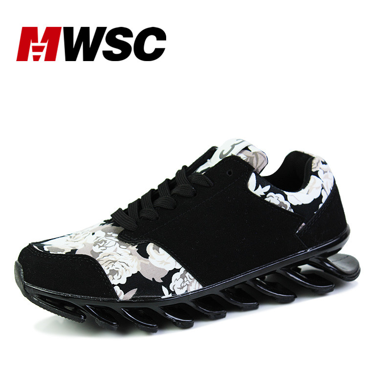 ФОТО MWSC Spring Blade Men's Casual Shoes Breathable Teenager Mesh Blade Sole Fashion Zapatillas Deportivas Hombre