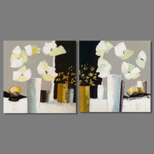 Impressionist Japan Style Still Life Pictures Decoration Flowers Canvas  Painting Japanese Wall Art Living Room Decor Part 83