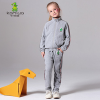 2016 Spring And Autumn Girls And Boys Active Twinset Children S Sets Full Casual Sports Set