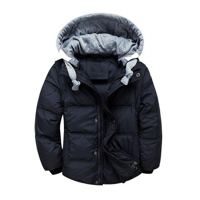 US $50.84  Giacca invernale con cappuccio bambini cappotto caldo neonati maschi giacche leggere per ragazze cappotti della tuta sportiva abbigliamento