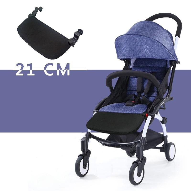 Accesorios para cochecito para Babyzen Yoyo bebé tiempo Yoya pie resto bebé trono infantil carruajes 16 cm pies extensión cochecito de Footboard