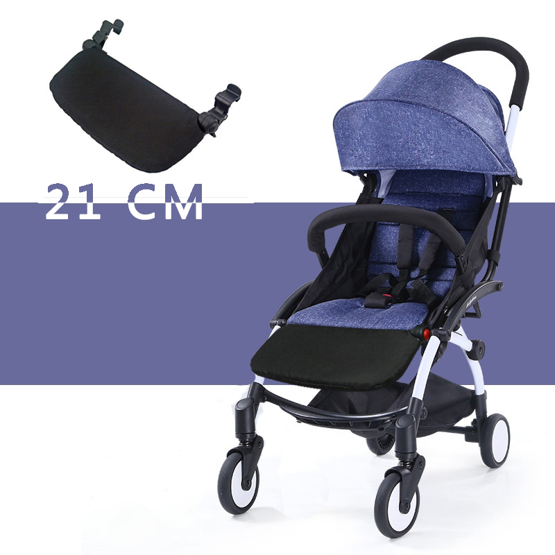 Acessórios para Babyzen Yoyo carrinho de Bebê Tempo Yoya Carruagens 16 cm Extensão Pés Pé Resto Trono Bebê Infantil Carrinho De Bebê Pedal