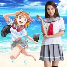 Костюм для косплея японского аниме «love live sunshine» Матросская
