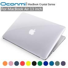Кристалл прозрачный футляр для Apple MacBook Air 13 крышка MacBook Air 13.3 дюймов Сумка для ноутбука MacBook Air 13 случай