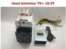 Используется BTC шахтер AntMiner T9 + 10,5 T Bitcoin МПБ шахтер с PSU лучше чем AntMiner S9 S9i S9j 13,5 14 лет 14,5 T WhatsMiner M3