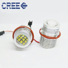 Cree 60W E39 E53 E60 E61 E63 E65 E66 E87 Auto Lamp LED for BMW Angel Eyes Marker Bulbs for BMW 5 6 7 Series X3 X5 LED Marker
