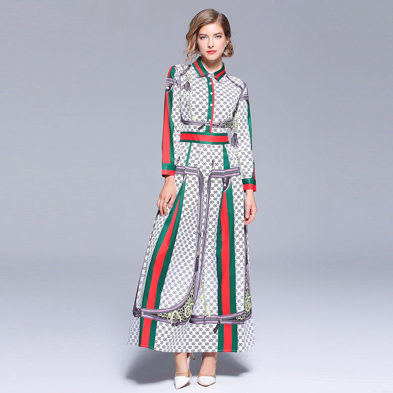 0daa434c1ae47 Aliexpress.com : Buy Runway Dresses 2018 Early Autumn Bohemian Boho Style  Women Chic Dress Floral Print Long Sleeve Bow Tie Neck Slim Party Dress  from ...