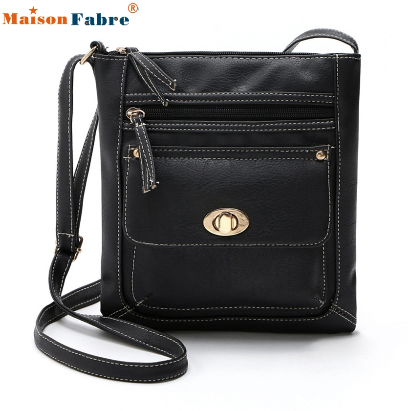 High quality Womens Leather Satchel Cross Body Shoulder Messenger Bag