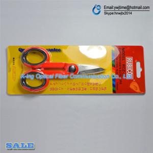 Image 2 - Japan 1PCS RUBICON Brand RCZ 527 non slip plastic handle optical fiber scissors especially used for Kevlar lines cutting