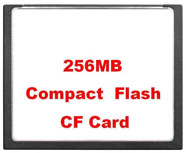 Miễn phí Vận Chuyển Công Nghiệp Thẻ Nhớ Nhỏ Ban Đầu 256 mb CF Thẻ 256 m Thẻ Flash Nhỏ Gọn Thẻ CNC Quilter Máy FANUC
