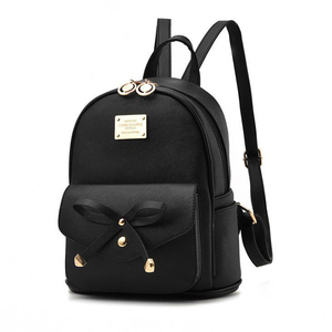 Image 5 - FGJLLOGJGSO Fashion Women Bag School Lady Backpack PU Leather small Student Shoulder Casual Female Backpacks Softback Bags Sac