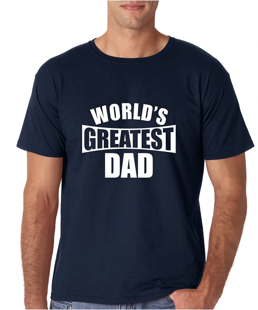 Fashion 2018 Summer Worlds Greatest Dad - Fathers Day Premium Mens T-Shirt Printed T Shirts Mens Streetwear