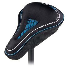 Thicken Soft Bicycle Saddle Cover MTB Road Comfortable Cycling Bike Seat Shockproof Back Parts Sponge Breathable
