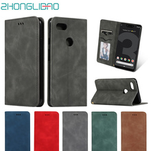 Pixel 3a Xl Case Retro Magnetic Wallet Leather Flip for Google 3 3A XL Card Stand Holder Book Cover
